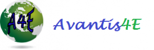 Avantis4e logo with words