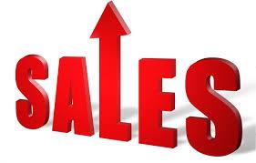 Sales up 1