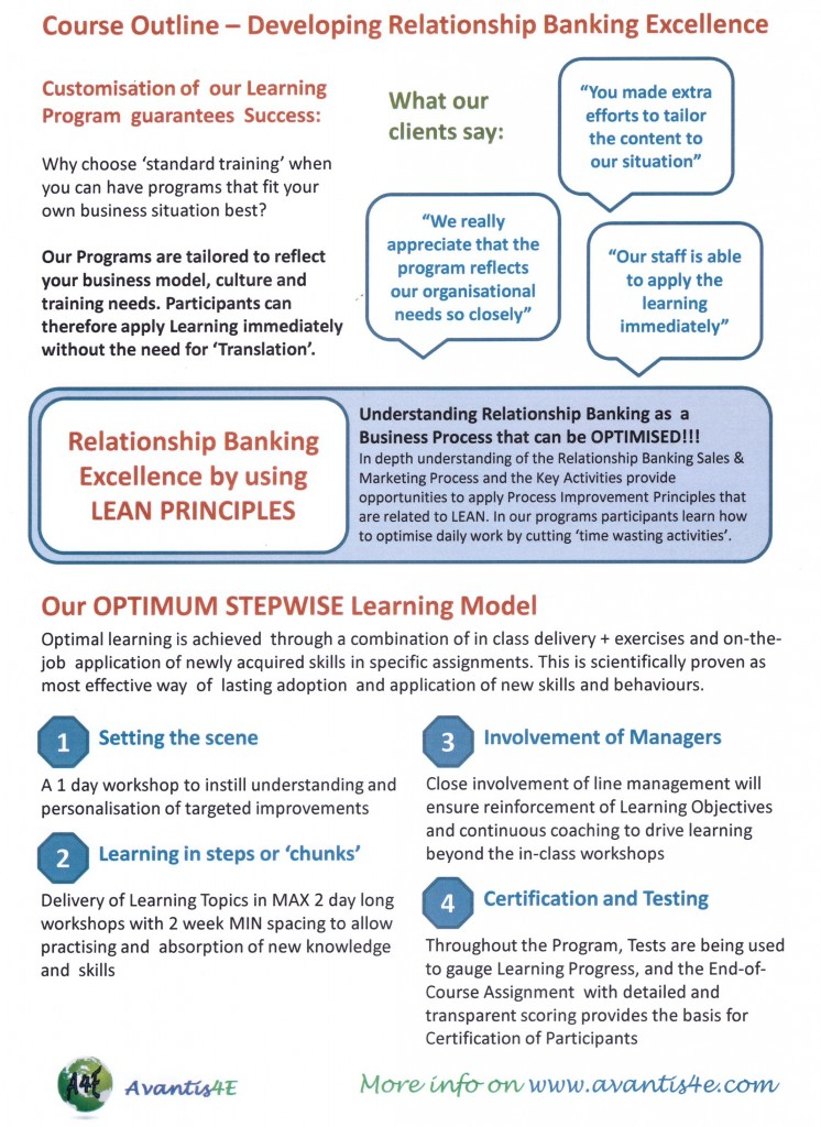 banking course outline